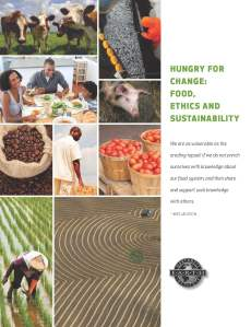 Hungry for Change: Food, Ethics and Sustainability - one of NWEI's 12 course books