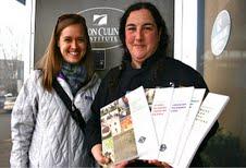 NWEI Staffer Liz Zavodsky and OCI Chef Instructor Ramona White